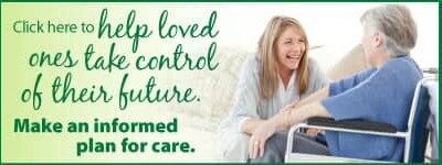 Help loved ones take control of their future - make an informed plan for care