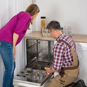 Repairing household appliance