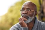 Pondering man