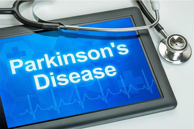 Parkinson's disease on physicians tablet